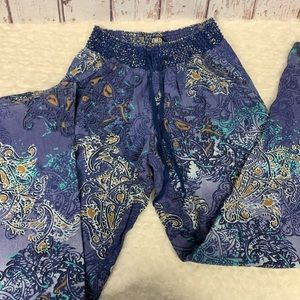 Rewash American Original Blue floral Stretch szM/L